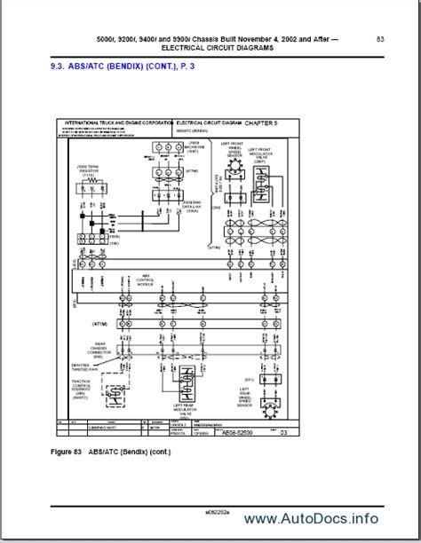 international trucks wiring diagram repair manual order download