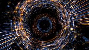 4K Dark Fire Rings Zoom Effect Motion Background 2160p ...