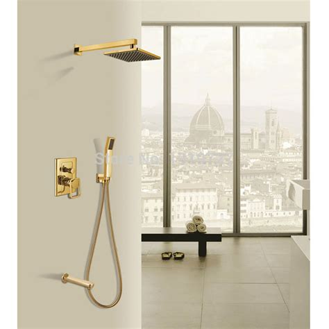 Bathroom Shower Fixture Sets by New Luxury Bathroom Brass 8 Inch Waterfall Shower