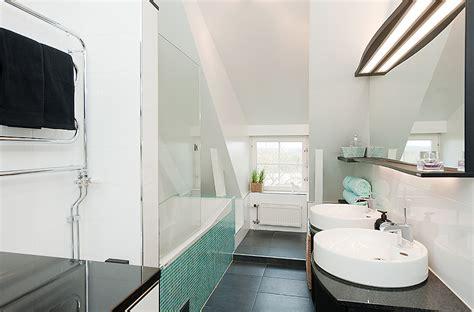 white aqua bathroom design mosaic tiles interior design