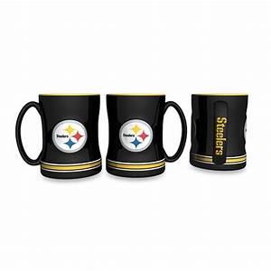 NFL Pittsburgh Steelers Ceramic Relief Mug
