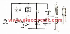 Simple High Level Water Alarm  U2013 Circuit Wiring Diagrams
