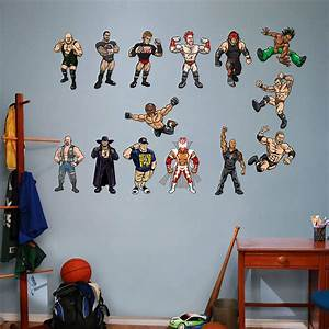 wwe kids collection wall decal shop fatheadr for wwe With fathead wall decals