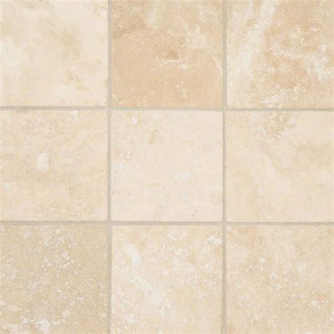 travertine tile 4x4 ivory honed beveled travertine tile backsplash tile