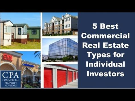 5 Best Commercial Real Estate Types for Individual
