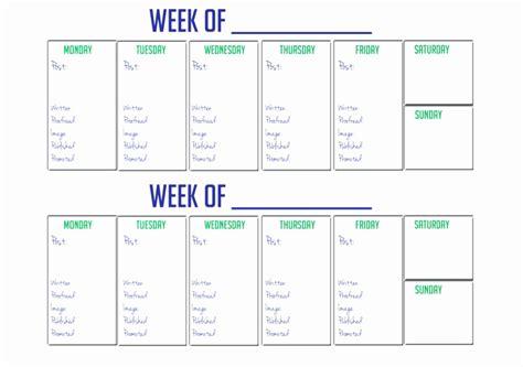 2 week calendar template fresh 30 illustration 2 week calendar printable calendar 2018 2019