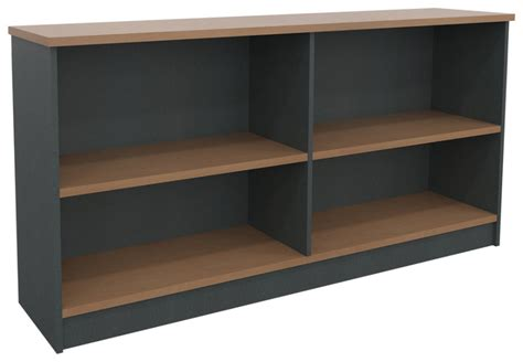 Horizontal Bookcase by Shipshape Deluxe Horizontal Bookcase 1800mm X 900mm X 400mm