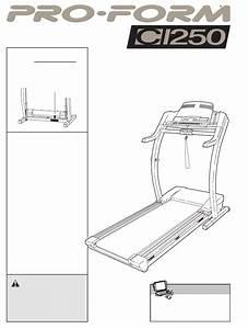 Proform Treadmill Drtl11720 User Guide