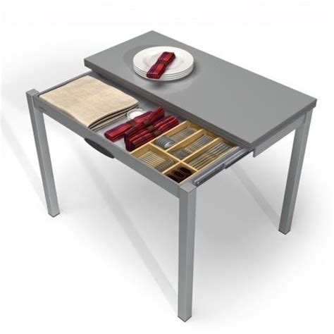 table pour la cuisine table de cuisine extensible en mélaminé table petit