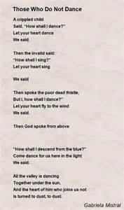 And God Said Let There Be Light by Those Who Do Not Dance Poem By Gabriela Mistral Poem Hunter