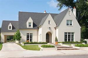 Pleasing Brick House Plans with Long Driveway White