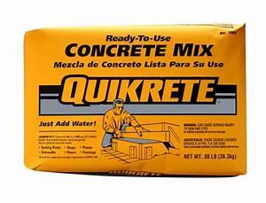 Quikrete 80 Lb Commercial Grade Countertop Concrete Mix