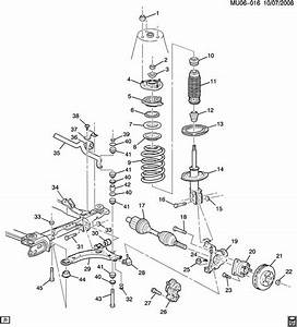 Pontiac Montana Rear Suspension