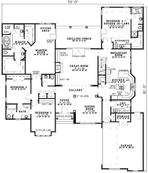 house plans with inlaw suites house plans with in suites plan w5906nd