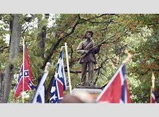 Silent Sam Rally against Confederate statue on UNC Chapel