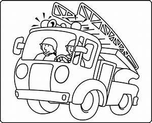 Ausmalbilder Feuerwehr 123 Ausmalbilder