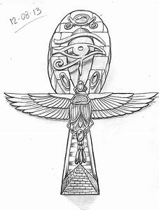 Tattoo Sketch A Day: Egyptian August 8th - 14th