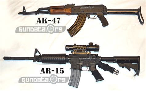 ak 47 vs ar 15 1 o 99percentred