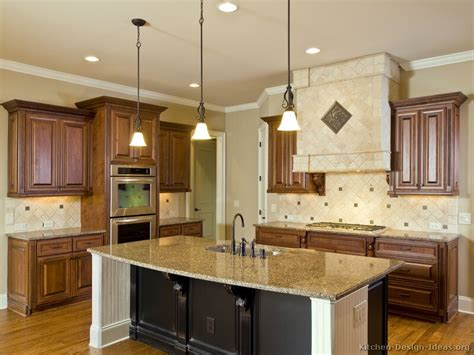 pictures of kitchens traditional two tone kitchen cabinets kitchen 28