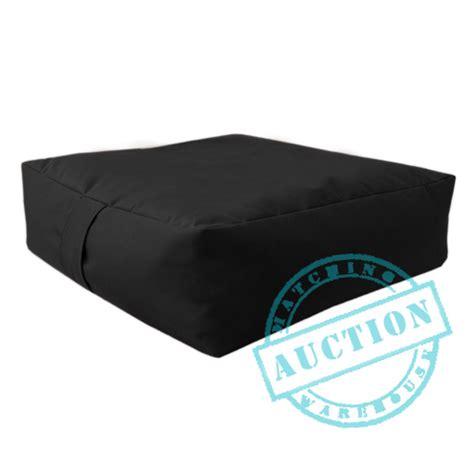 black waterproof bean bag slab beanbag outdoor garden