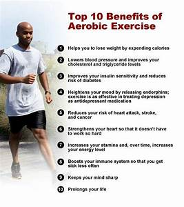 Aerobic Exercise  Health And Sensory Benefits