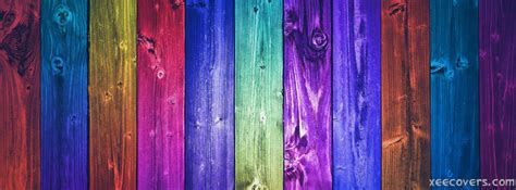 Colorful Covers by Colorful Wood Pieces Fb Cover Photo Xee Fb Covers