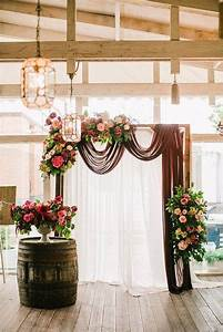 20 best floral and fabric wedding arches on