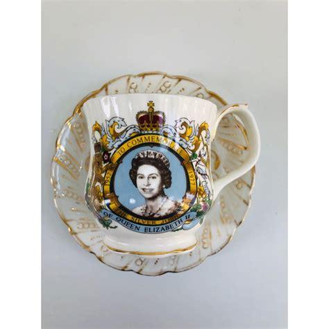 1970s Queen Elizabeth Silver Jubilee Commemoration ...