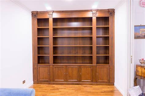 librerie noce costruire una libreria in noce libreria in noce nazionale