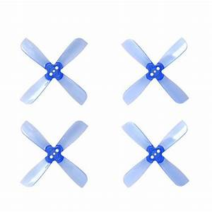 Blue Purple 2 Pairs Gemfan 2035 Blades 1 5mm Mounting Hole