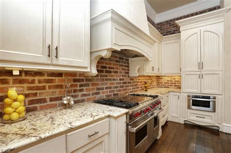 brick island kitchen remodeled boston kitchen with stainless steel and brick 1786
