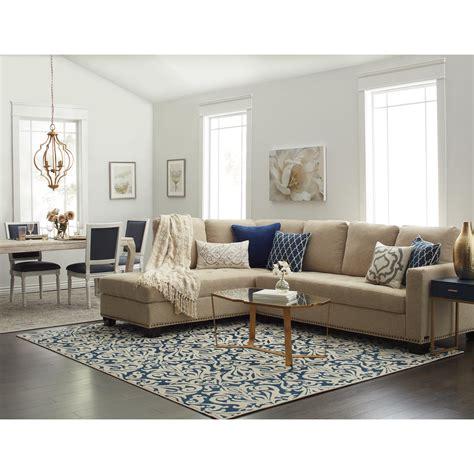 abbyson claridge fabric sectional in 2019 living family