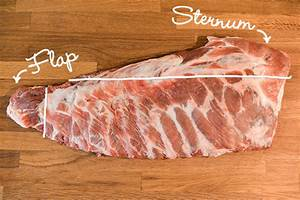 How To Trim Pork Spareribs Into A St  Louis