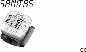 Sanitas Blood Pressure Monitor Sbm 67 Instructions