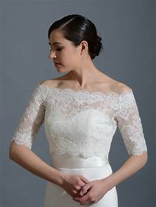Off shoulder bridal bolero wedding jacket wj002 for Wedding dress bolero