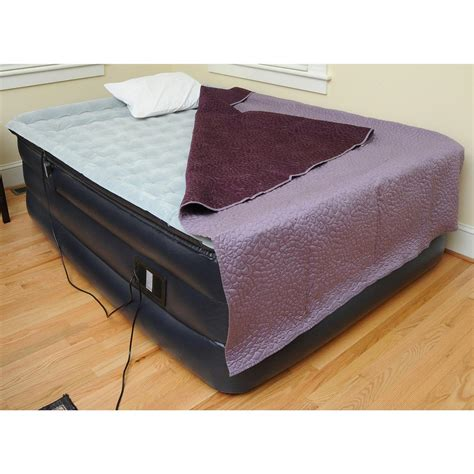 hi riser bed easy riser 174 high rise pillowtop air bed with remote