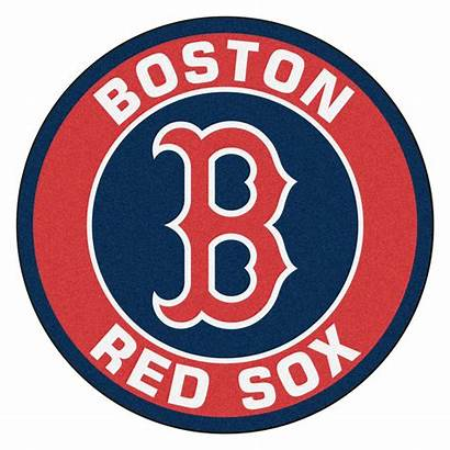 Sox Boston Baseball Clip Clipart Round Rug