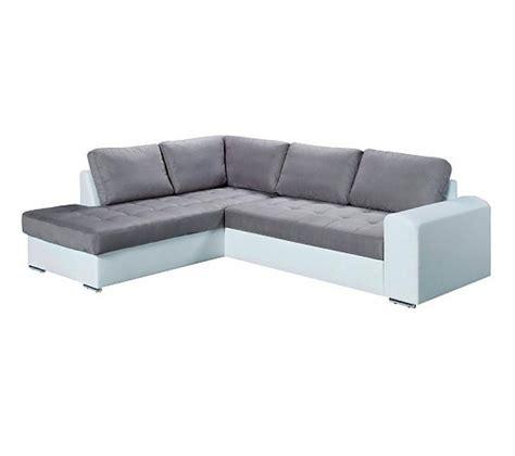 canape blanc d angle photos canapé d 39 angle gris et blanc but