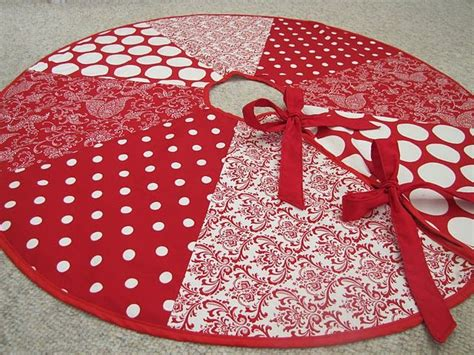 christmas tree skirt things i think i could make if i had time and