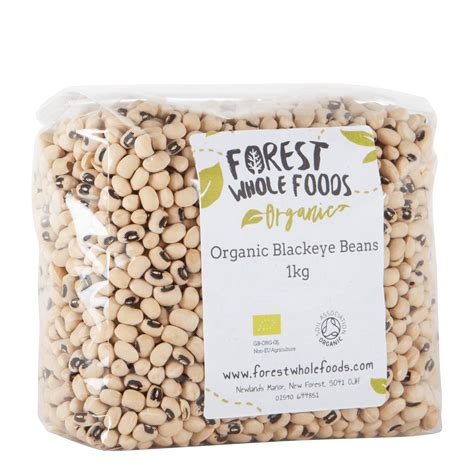 All our coffees are available as green unroasted beans that can be selected individually for each coffee. Organic Black Eye Beans - Forest Whole Foods