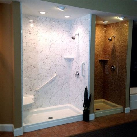 acrylic stall shower designs shower stalls  small