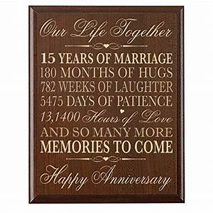 15th wedding anniversary gift for couple 15th anniversary for Gift for 15th wedding anniversary