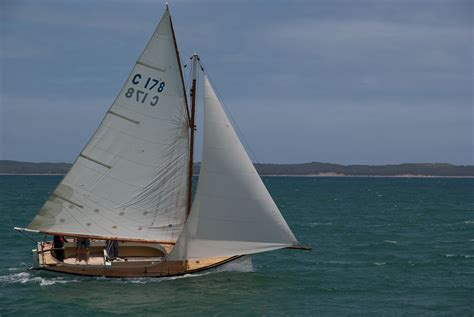 Sailing Boat Australia by Couta Sailing Boats In The Australian Sun Intheboatshed Net