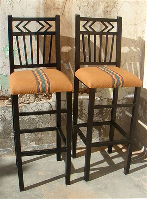 Southwest New Mexican Iron Furniture, Bar Stools, Tables