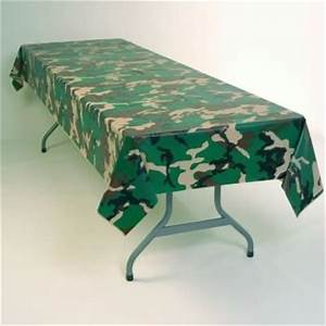 Plastic Table Cloths Discount Camouflage Plastic
