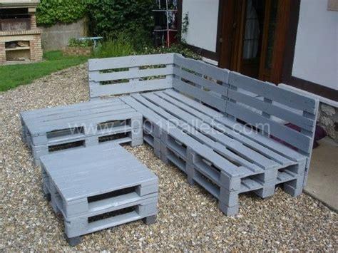 chaise en palette pallets garden lounge salon de jardin en palettes europe