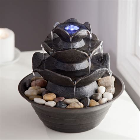 bond quinn indoor outdoor tabletop fountain fountains at