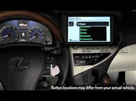 auto air conditioning service 2010 lexus is f parental controls 2010 2012 quick guide lexus automatic air conditioning system with navigation youtube