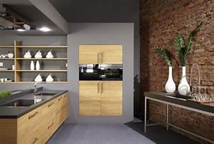 Küche Eiche Modern : k che eichenholz betonoptik k chendesignmagazin lassen sie sich inspirieren ~ Eleganceandgraceweddings.com Haus und Dekorationen