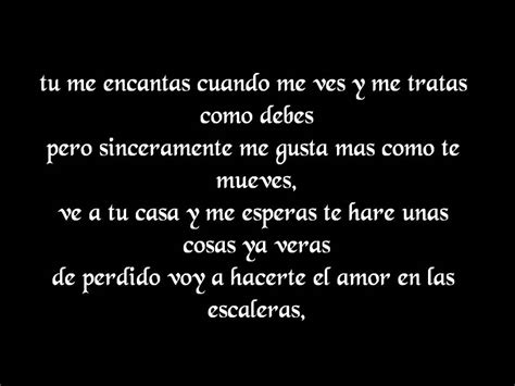 Ella Es Una Amenaza [letra] 2012